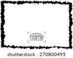 grunge frame   abstract texture.... | Shutterstock .eps vector #270800495