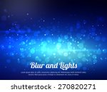 abstract blue colorful bokeh...