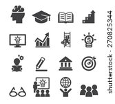 business education icon | Shutterstock .eps vector #270825344