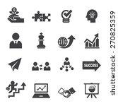 business icon set | Shutterstock .eps vector #270825359