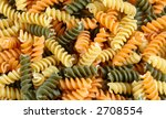 Tri Color Pasta Texture