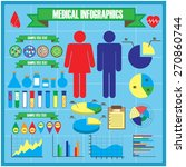 medical and health  healthcare  ...   Shutterstock .eps vector #270860744