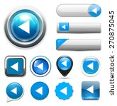media player button | Shutterstock .eps vector #270875045