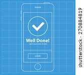 mobile blueprint wireframe app...