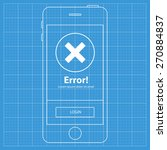 mobile blueprint wireframe app...