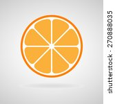 orange icons set great for any... | Shutterstock .eps vector #270888035
