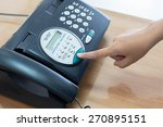 office printer fax and copy... | Shutterstock . vector #270895151