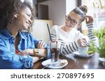 caring about friendship is... | Shutterstock . vector #270897695