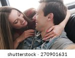 love  relationship. beautiful... | Shutterstock . vector #270901631