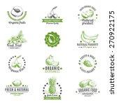 vector set of labels  badges...   Shutterstock .eps vector #270922175