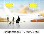 international airport terminal... | Shutterstock . vector #270922751