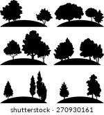 set of different landscapes... | Shutterstock .eps vector #270930161