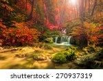 wonderful waterfall in thailand ... | Shutterstock . vector #270937319