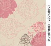 beautiful floral background...   Shutterstock .eps vector #270938924