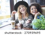 funny time with the best friend | Shutterstock . vector #270939695