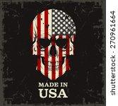 skull color of the flag | Shutterstock .eps vector #270961664