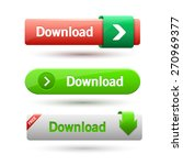 vector illustration of download ... | Shutterstock .eps vector #270969377