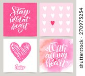 Vector Collection Of Love Card...