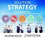 strategy business goals... | Shutterstock . vector #270975704