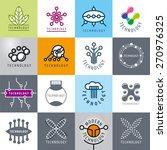 big set of vector logos... | Shutterstock .eps vector #270976325