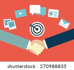customer relationship... | Shutterstock .eps vector #270988835