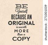 retro typographic poster design ... | Shutterstock .eps vector #271001039