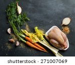 Fresh Chicken And Vegetables O...