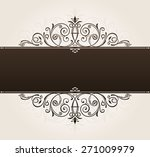 place template for text.... | Shutterstock . vector #271009979