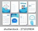 templates. design set of web ... | Shutterstock .eps vector #271019834