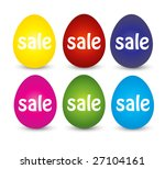 easter sale | Shutterstock . vector #27104161