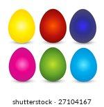 easter eggs | Shutterstock . vector #27104167