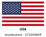 united state of america usa... | Shutterstock .eps vector #271043849