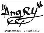 graffiti tag | Shutterstock .eps vector #271064219