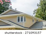 fragment of the house with nice ... | Shutterstock . vector #271093157