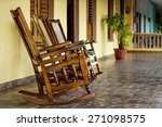 Chairs On A Porch In Vinales ...