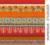 abstract african seamless... | Shutterstock .eps vector #271101335