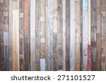 Background Of Reclaimed Timber...