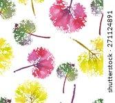 crazy beautiful watercolor... | Shutterstock . vector #271124891
