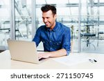 successful web designer testing ... | Shutterstock . vector #271150745