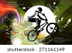 sport vector illustration | Shutterstock .eps vector #271161149
