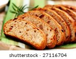 Bread With Dry Tomatoes   Food...