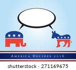 2016 usa presidential election... | Shutterstock .eps vector #271169675