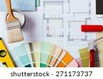 painter and decorator work... | Shutterstock . vector #271173737