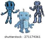 set of sketch illustration of... | Shutterstock . vector #271174361