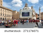 rome  italy   april 19  2015 ... | Shutterstock . vector #271176071