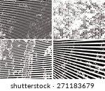 grunge set stripe. vector...   Shutterstock .eps vector #271183679