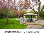 Residential  Backyard With...