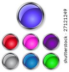 buttons of different colors for ...   Shutterstock .eps vector #27121249