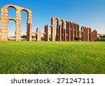 aqueduct los milagros  merida ... | Shutterstock . vector #271247111