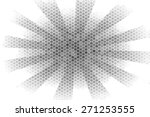 abstract black circle on a... | Shutterstock . vector #271253555